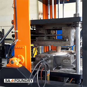 Gravity die casting machines and automatic cell