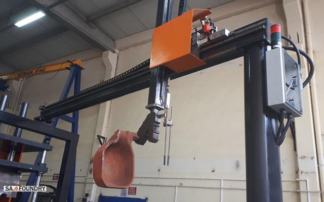 Automatyczny dozownik (napełnianie) stopu, model SA-LP-30 SA-Foundry