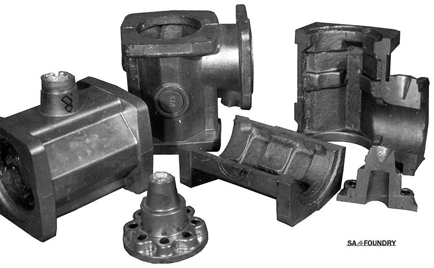 Odlewy korpusów pomp górniczych otrzymywane przez odlewanie pod niskim ciśnieniem do formy metalowej z rdzeniem piaskowym