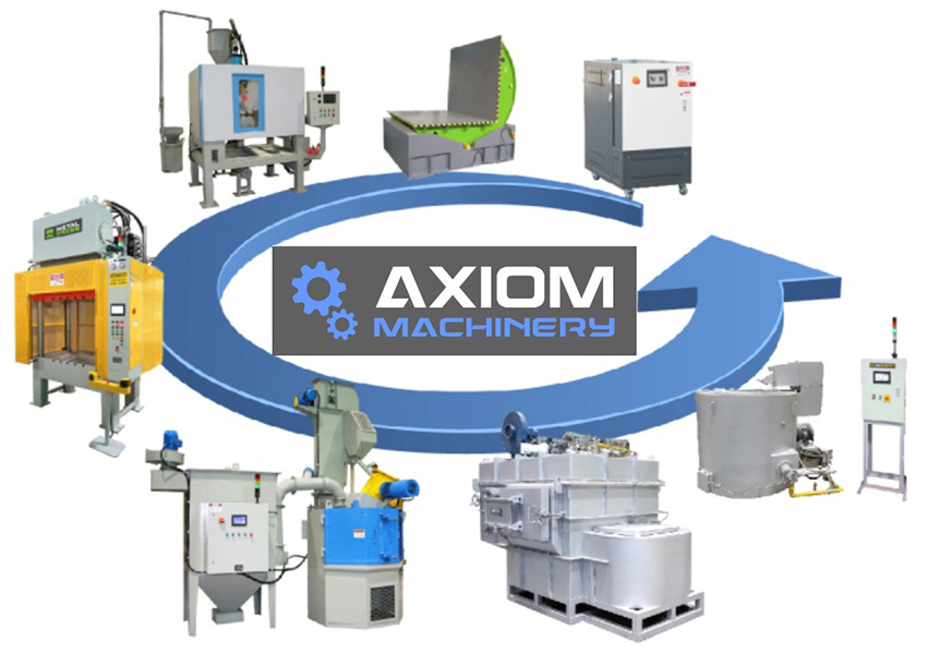 SA-Foundry received the status of a sales representative of Axiom Machinery